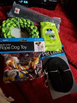 Brand New Heavy Duty Tactical Collars, 16' Leash, Dog Toys! for Sale in Wenatchee,  WA