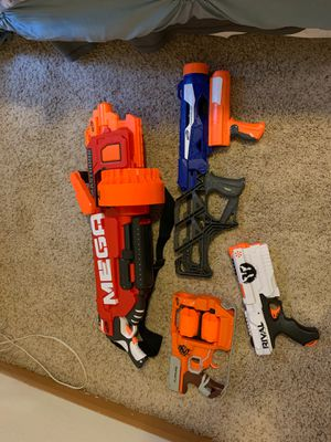 Nerf guns for sale!!! for Sale in Bellevue, WA