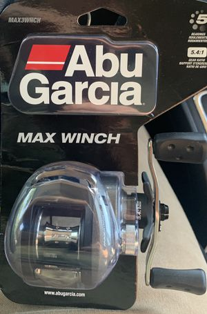 Abu Garcia Max Winch Fishing Reel for Sale in St. Louis, MO
