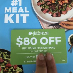 HELLO FRESH FREE 6 MEALS VOUCHER for Sale in Los Angeles, CA