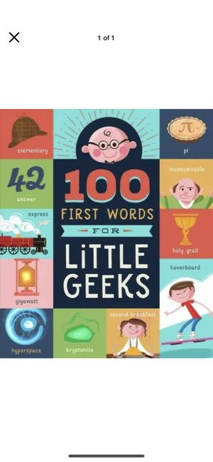 "NEW - "" 101 First words for a little geeks"" - science fiction, Christmas for Sale in Fresno, CA"
