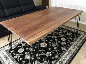 Beautiful Brand New 100% Solid Live Edge Acacia Wood Table for Sale in Oceanside, CA