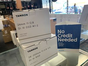 Tamron Sony lens (variety selection 😁) for Sale in Santa Ana, CA