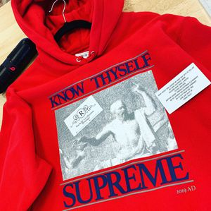 Red Supreme Hoodie for Sale in Watsonville, CA