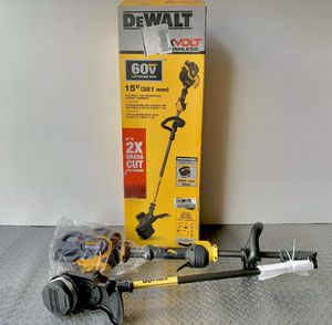 DeWalt flexvolt trimmer 60v for Sale in Houston, TX