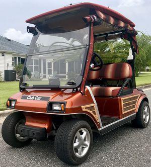 Golf cart club car ds orange for Sale in Orlando, FL
