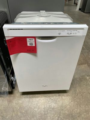 New! White Whirlpool Built In Dishwasher 1 Year Manufacturer Warranty Included for Sale in Gilbert, AZ