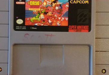SNES The Great Circus Mystery for Sale in Las Vegas,  NV