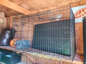 Large dog crate for Sale in Asheboro, NC