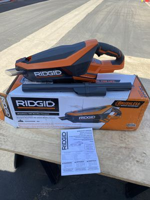 RIDGID Cordless Brushless Vacuum for Sale in Bakersfield, CA