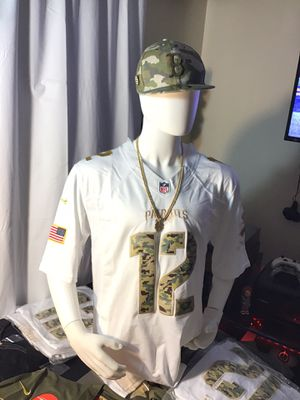 Patriots jersey,Salute to service,Christmas is almost here .pick up or ship for Sale in Boston, MA