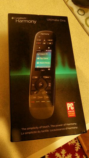 Logitech harmony ultimate one controller for Sale in Rockwood, MI