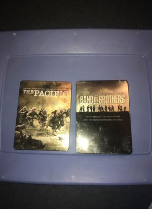 """""""The Pacific"""", and """"Band of Brothers"""" DVD series. for Sale in West Palm Beach, FL"""