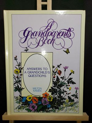 A Grandparents book answers to questions for Sale in Zanesville, OH