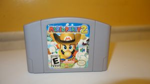 Mario Party 2 authentic video game for Sale in Garland, TX