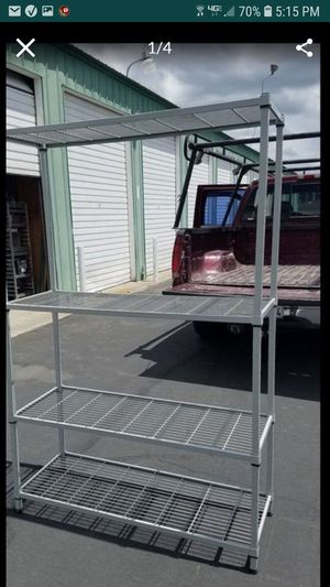 Storage rack heavy guage steel amco 48x18 x72 for Sale in Tracy, CA