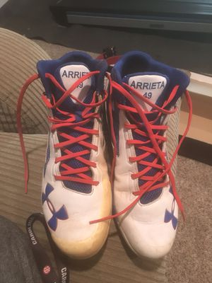 Jake Arrieta Game Worn Cleats for Sale in Germantown, MD