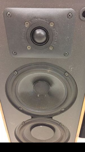 Polk Stereo Speakers for Sale in Charlotte, NC
