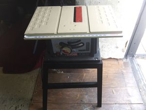 Ryobi 10 inch table saw for Sale in Oklahoma City, OK