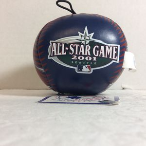 2001 MLB All Star Game Seattle Good Stuff Toy Baseball New With Tags for Sale in Goodyear, AZ