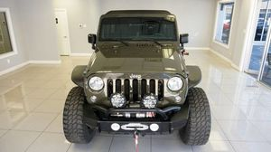 2015 Jeep Wrangler Unlimited Freedom Edition for Sale in Houston, TX