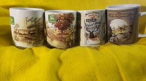 Four Licensed New John Deere Mugs for Sale in Scottsbluff, NE