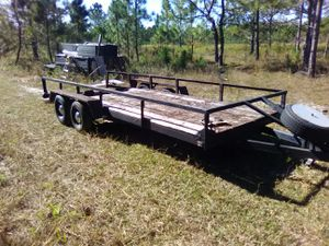 21' car/utility trailer for Sale in Polk City, FL