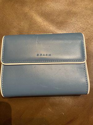 Coach Leather Wallet for Sale in Walnut Creek, CA