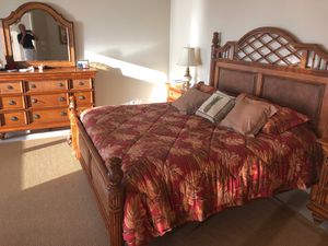 Tommy Bahama style bedroom set for Sale in Naples, FL