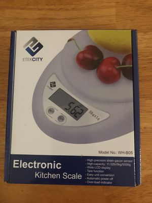 Etekcity Electronic Kitchen scale for Sale in Winter Park, FL