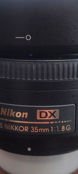 Nikon 35 mm lens for Sale in Colleyville,  TX