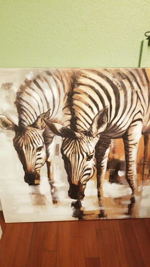 Picture zebra Art painting for Sale in Ontario, CA