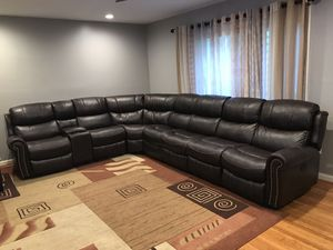 Leather Sofa for Sale in Alexandria, VA