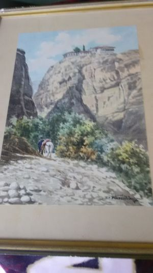 Metador Water Color PAINTING BY D. Vassiliou for Sale in Salt Lake City, UT