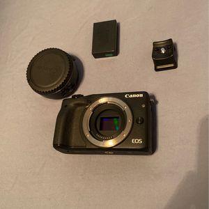 Canon M3 Camera for Sale in Rancho Cucamonga, CA