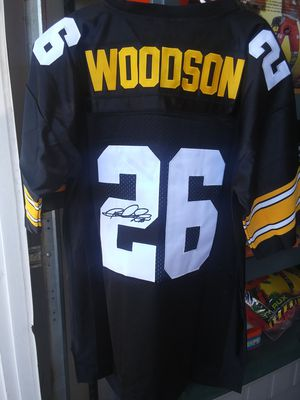 STEELERS ROD WOODSON THROWBACK JERSEY for Sale in South Gate, CA