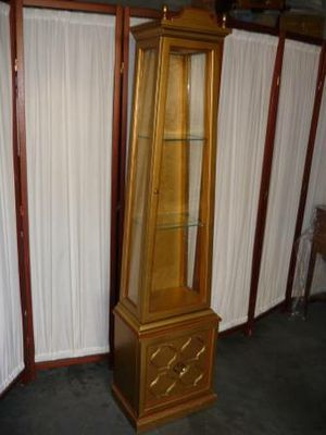 Beautiful Lighted Curio or Display Cabinet for Sale in Peoria, AZ
