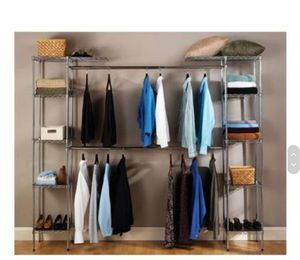Serville Closet Organizer system / Cloth rack for Sale in Sunnyvale, CA