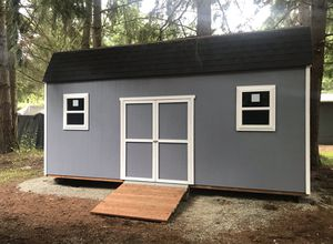 10x20 barn style shed for Sale in Lakewood, WA
