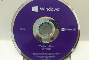 Windows 10 Professional Disk with License for Sale in Lake Worth, FL