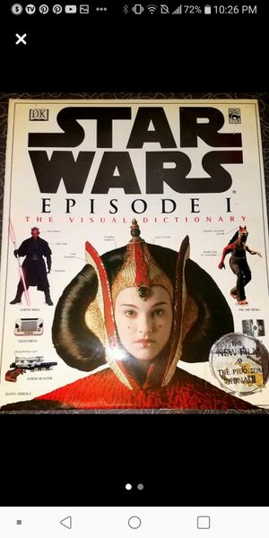 Star Wars Episode 1-Hardback Book for Sale in St. Louis, MO