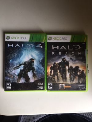 Halo 4 Halo Reach Video Games for Xbox 360 for Sale in Irvine, CA