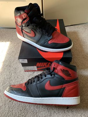 Jordan 1 bred for Sale in Woodbridge, VA