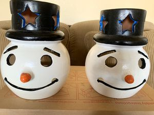 ~*~~ AMAZING!!! SNOWMAN FOR CHRISTMAS**CAN BE USED INSIDE OR OUT~~*~~ 4 FOR SALE- BUY 1 OR ALL for Sale in San Francisco, CA