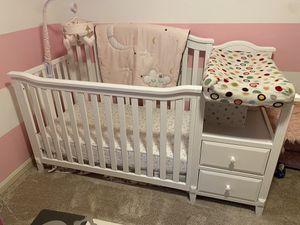 Sorelle Berkley Full Size Crib & Changing Table for Sale in Hanover, MD