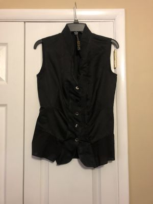 Men's black vest Vassalli for Sale in Gainesville, GA