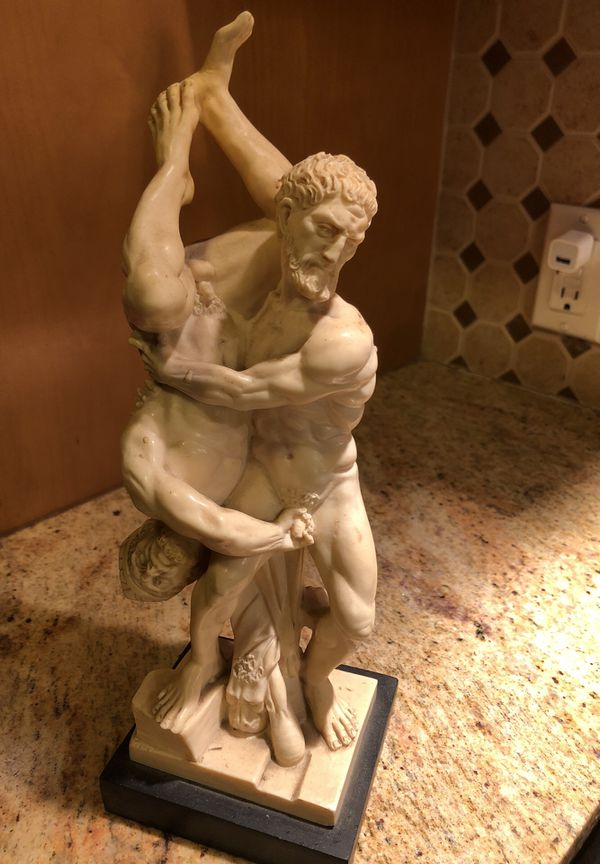 Vintage Italian Resin Sculpture