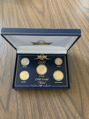 Coins 24kt gold plated for Sale in Houston, PA