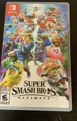 Super Smash Bros Ultimate for Nintendo Switch for Sale in Tigard,  OR
