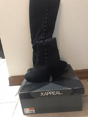 New black ladies boots, size 6 for Sale in Spring Hill, FL